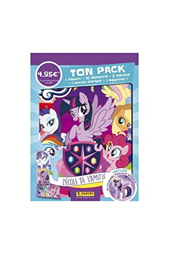 Panini álbum + 2 Fundas + Figura My Little Pony saiso 8, 2402 - 014