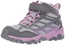 Merrell M-Moab Fst Mid A/C Waterproof, Scarpe Sportive Indoor Donna, Multicolore (Grey/Purple), 37 EU