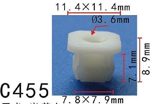 Front-und Instrumententafel und Gitter Nuss #8 Schraube, Modell PF-C455 (Packung 20)