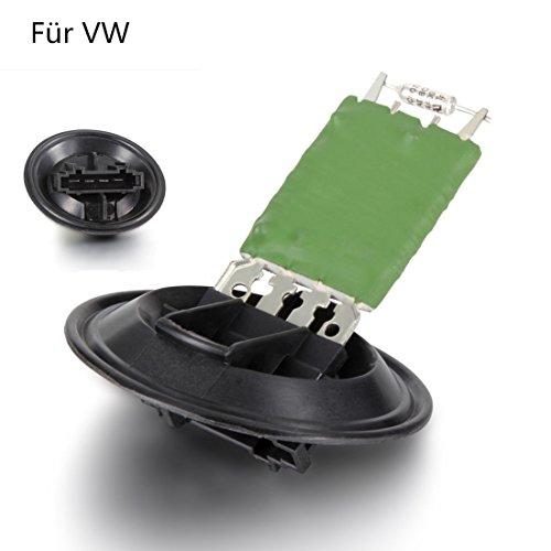FLYN Heizung Widerstand Gebläsemotor Lüfterwiderstand Gebläseregler Lüftung Lüfter Vorwiderstand 6Q0959263A für Seat Cordoba/Ibiza/Fabia/Roomster