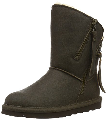 Bearpaw Damen MIMI Kurzschaft Stiefel, Braun (CHESTNUT DISTRESSED 221), 42 EU (Distressed Damen Stiefel)