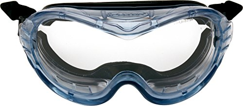 3M™ Fahrenheit™ Safety Goggles, Helmet Version, Foam Lined, Sealed, Anti-Fog, Clear Acetate Lens, 71360-00017