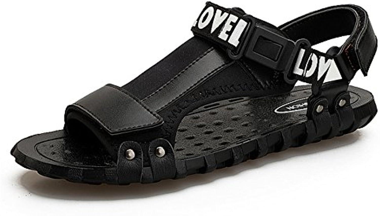Zapatillas Sandalia para Hombres Al Aire Libre Zapatos Antideslizantes Y A Prueba De Golpes De Playa Sandalias...