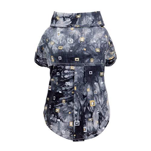 assische Komfortable Durable Shirt Button Einfach Zu SchließEn FrüHling Und Sommer Hund Weste Hund Katze Kleidung ()