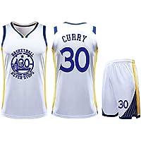 DERTL for #30 Stephen Curry Golden State Warriors Fans Basketball Jersey Children Youth Sportswear Shirt Vest Top Summer Shorts Male Female T-Shirt