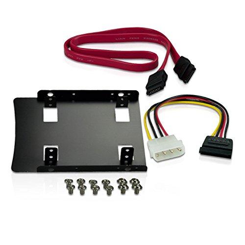 """CnMemory Einbau-Kit für SSDs und 6,35 cm (2,5"""") HDDs"""
