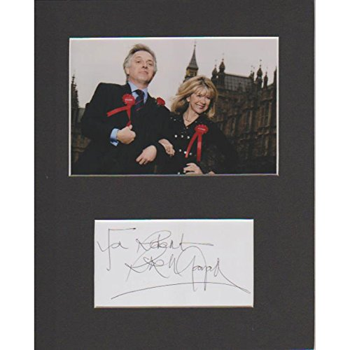 the-new-statesman-rik-mayall-authentique-signe-autographe-modele-coa