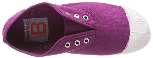Bensimon Tennis Elly Enfant, Unisex-Kinder Hohe Sneakers Violett - Violet (Lie de Vin 402)