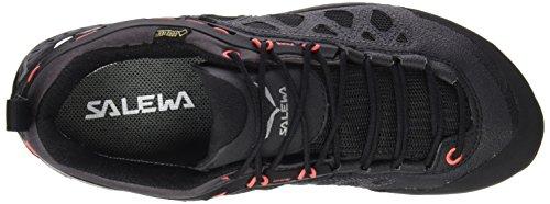 Salewa WS FIRETAIL 3 GTX, Chaussures de randonnée femme Noir (Black Out/hot Coral 8594)