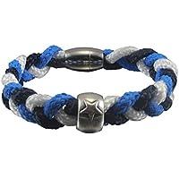 Emmi's Star Segeltau Armband dreifarbig mit Stern
