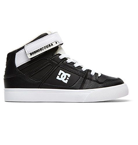 DC Shoes Pure EV - High-Top Shoes - Hi Tops - Jungen - EU 36 - Schwarz (Jungen Pure Dc Schuhe)