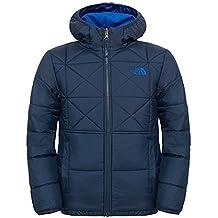 The North Face B Reversible Perrito Jacket - Chaqueta reversible para hombre, color azul, talla XL
