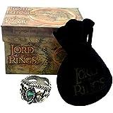 El Señor de los Anillos - Anillo de Aragorn 19mm - Lord of The Rings Replica Oficial Medioevo