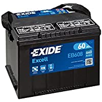 Exide Excell EB608 Car Battery G75Se 60 Ah - ukpricecomparsion.eu