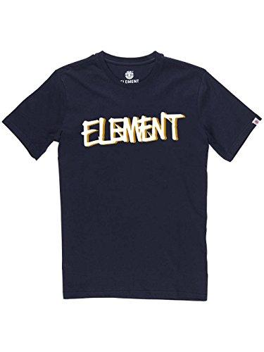 Herren T-Shirt Element Word T-Shirt eclipse navy