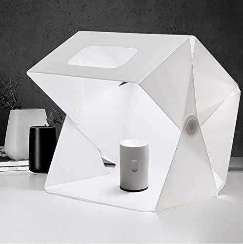 Studio Mini LED-Fotostand Light Box Photo Box Studio Tent Light Kit-15,7