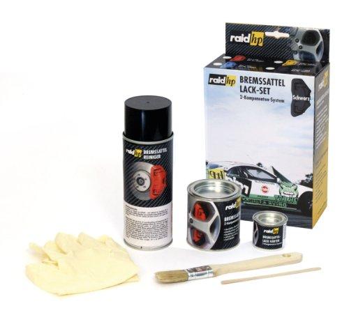 raid hp 350004 Bremssattellack Set, SCHWARZ-GLÄNZEND Test