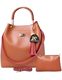 b62c44a7b3dc9 Speed X Fashion Women s Handbag And Shoulder Bag With Sling Bag Combo  (SNTY-120T