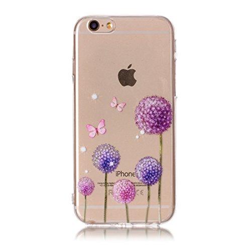 Phone Case & Hülle Für iPhone 6 & 6s Rosen Muster TPU Schutzhülle ( SKU : Ip6g0424e ) Ip6g0424g