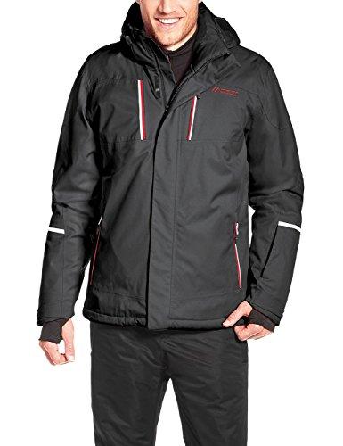 Maier Sports Herren Skijacke Lupus Black, 114 114