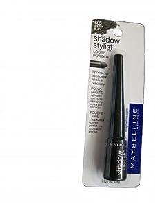 Maybelline Shadow Stylist Loose Eye Powder Sultry Black 605