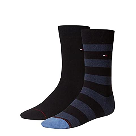 Tommy Hilfiger Socken RUGBY - Dark navy - 4 Paar je Packung Größe 43-46