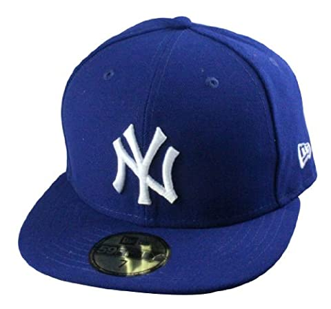 New Era Basic Cap New York Yankees royal / white | Größe 7 3/8