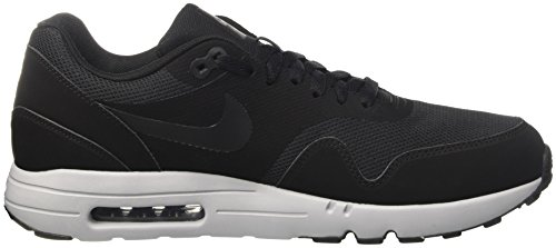 Nike Air Max 1 Ultra 2.0 Essential, Chaussures de Course Homme Noir (Black / Black / Wolf Grey / Dark Grey)