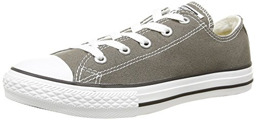 Converse Ctas Season Ox, Baskets mode mixte enfant Gris (Anthracite)