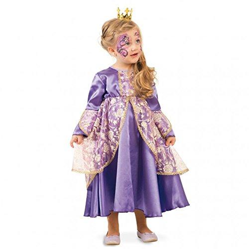 c580c24deba Fritz Fries   Söhne GmbH   Co Traje Infantil Princesa Violeta Vestido  púrpura-Dorado Carnaval