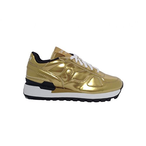 Saucony Shadow Metallic LIMITED EDITION gold sneakers da donna scarpe da ginnastica S60209-1 S60209-2 GOLD/BLACK 1