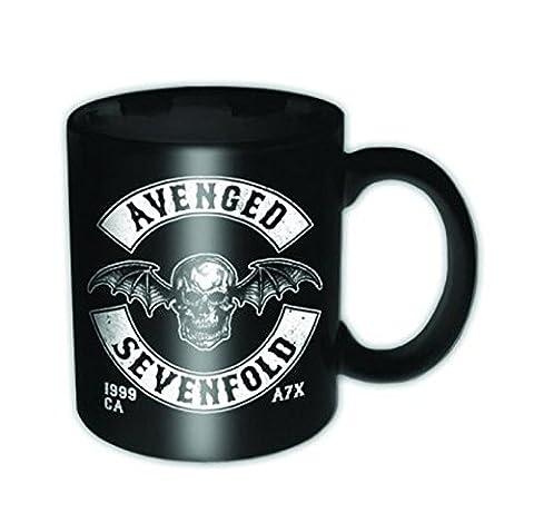 Avenged Sevenfold Death Bat Crest New Official Boxed Mini Mug Espresso Cup