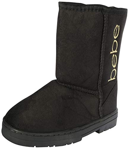 Bebe Girls Winter Boots with Side Logo (Toddler/Little Kid/Big Kid)