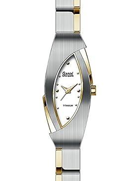 Gardé Ruhla elegante Titanuhr für Damen bicolor 26443