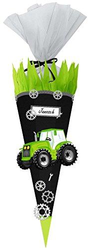 Traktor-display (Ursus 9870004 - Schultüten Bastelset, Easy Line Traktor, 6-eckig, 68 cm)