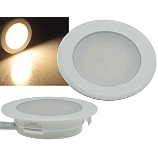LED-Einbauleuchte EBL-HV65 160Lumen 2 Watt 230V 3000K warmweiß Einbauspot UP Dose
