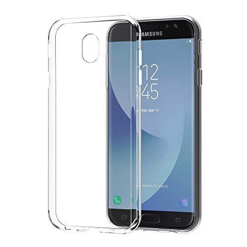 [2 Stück]Samsung Galaxy J7 2017 hülle, SPARIN Samsung galalxy J7 DUOS 2017 Schutzhülle Silikon Soft TPU Premium galalxy J7 2017 Handyhülle Anti-Kratzer klar Rücken für galalxy J7 2017 Tasche