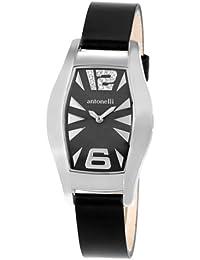 ANTONELLI 960041 - Reloj de Señora movimiento de cuarzo con correa de piel
