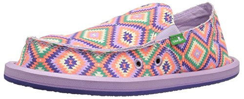 Sanuk Kids Donna Girls Slip On (Toddler/Little Kid/Big Kid), Purple, 13 M US Little Kid The Ranch Liberty