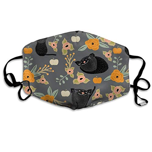 Catspattern Anti-dust Cotton Mouth Face Masks Reusable for Outdoor Half Face Masks