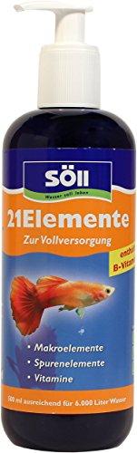 Söll 14009 21Elemente - Die Vollversorgung für Fische und Pflanzen im Aquarium - 500 - Süßwasser-aquarium Pflanzen