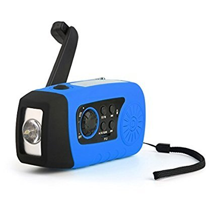 Radio Camping - iMinker portable solaire d'urgence Manivelle Self Powered