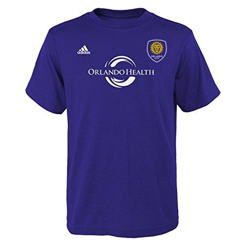 MLS Orlando City Kaka # 10Jungen Youth Name und Nummer Tee, Large, Violett