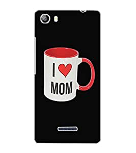 MICROMAX CANVAS 5 I LOVE MOM Back Cover by PRINTSWAG