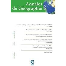 Annales de Géographie nº 673 (3/2010)