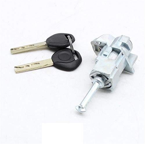 YIYIBY serratura a cilindro di riparazione per BMW Serie 3 E46 serratura a cilindro + albero di bloccaggio + serratura per porta con chiave Set
