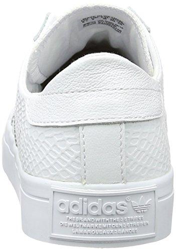 adidas Courtvantage W, Sneakers Basses Femme Blanc (Ftwr White/ftwr White/core Black)