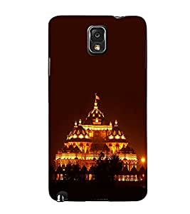 PrintVisa Akshardham Temple Gujrat 3D Hard Polycarbonate Designer Back Case Cover for Samsung Galaxy Note 3 :: Samsung Galaxy Note III :: Samsung Galaxy Note 3 N9002 :: Samsung Galaxy Note N9000 N9005