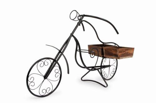 Legler - Support Décoration pour Plantes - Vélo Nostalgie 1 Panier Cagette