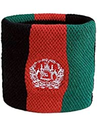 Schweißband Motiv Fahne / Flagge Afghanistan + gratis Aufkleber, Flaggenfritze®